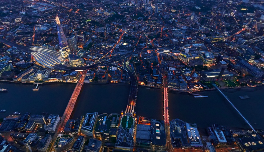 Woah! Stunning Panoramic Images Of London From The Air