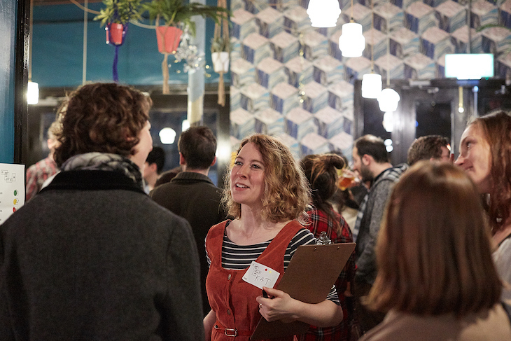 Meet fellow creatives at a laid-back networking night.