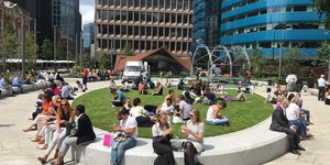 The Square Mile Has TWO New Parks