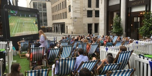 Catch Up With Wimbledon On The Big Screen At St James's Market This Summer