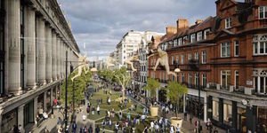 Cancelled: Oxford Street Pedestrianisation