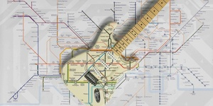 We Want One Of These Tube Map Guitars