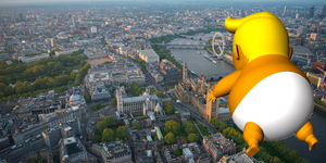 Crowdfunding For Inflatable Trump Baby Smashes Target