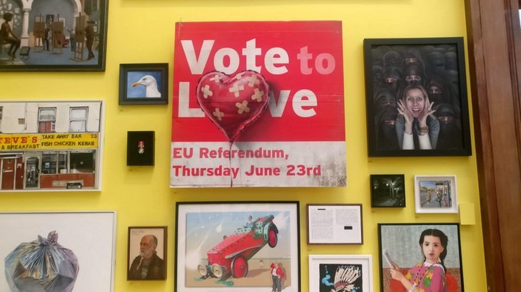 A 163 350m Banksy Pokes Fun At Brexit In Royal Academy S