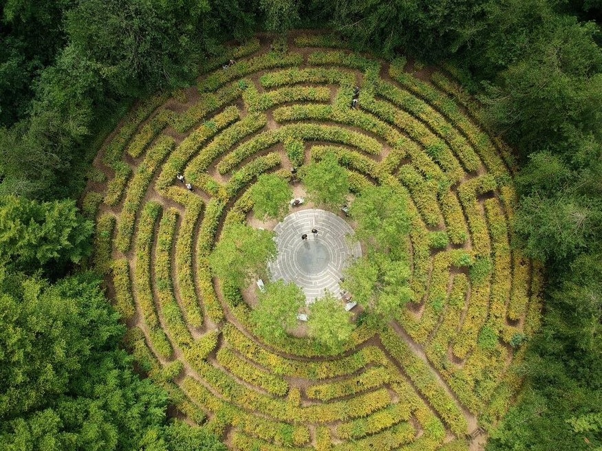 Could You Escape Crystal Palace's Fiendish Maze? There's Only One Way To Find Out