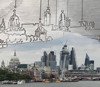 How The View From Waterloo Bridge Has Changed Beyond