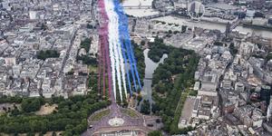 Photos Of The RAF 100 Celebrations