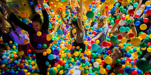 Is London Just Becoming One Giant Ruddy Playground?