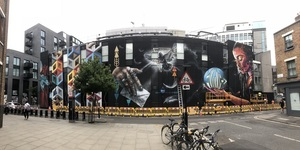 An Absolutely Massive Mural Has Arrived In Shoreditch