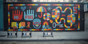 Get Involved In Free Street Art Masterclasses At Boxpark Shoreditch