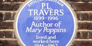 Mary Poppins' London House Gets A Blue Plaque