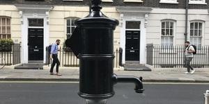 Historic Pump Restored To Soho