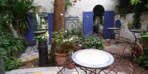 Discover This Secret Moroccan Garden, Tucked Away Behind A Chocolate Shop