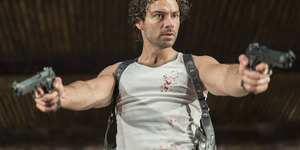 Poldark Star Aidan Turner Stars In Blood-Soaked Black Comedy The Lieutenant of Inishmore