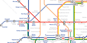 A Tube Map Of Every Station's Toilet Facilities