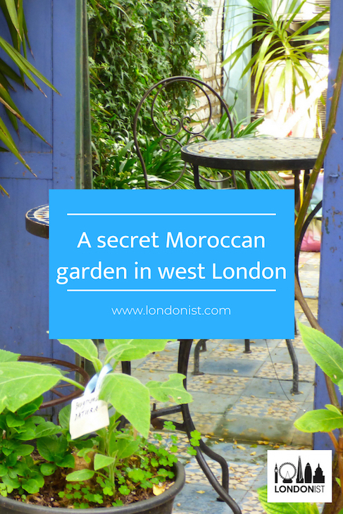 Discover This Secret Moroccan Garden, Tucked Away Behind A Chocolate ...