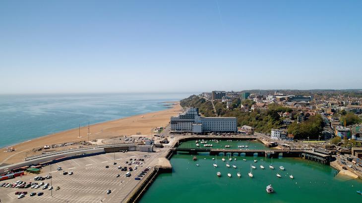 Top 10 seaside towns in kent
