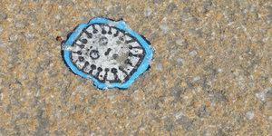 Hundreds Of Tiny Artworks Hidden At Tube Stations