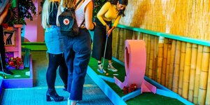 Crazy Golf Lands In Peckham