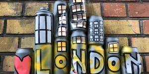Street Art Mystery: Who Is Writing These Messages On Cans?