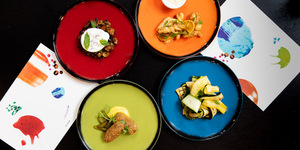 Art Street Kitchen: Colourful Plates But The Food Is A Little Beige