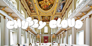 Climb On The World's Largest Bean Bag... Inside Banqueting House