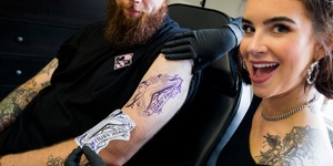 Strongbow Is Offering Londoners Free Tattoos... Of Strongbow