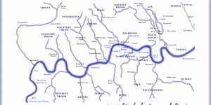 London's Lost Rivers Mapped, With The Place Names They Inspired