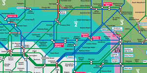 The Secret Tube Map That's Only Meant For TfL Employees