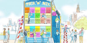 Giant Pick 'N' Mix Wall Coming To South Bank