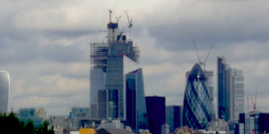 What Is That Building In The City Of London That Looks Like A Play Button?