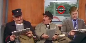How Many Tube Puns Can You Spot In This Classic Two Ronnies Sketch?