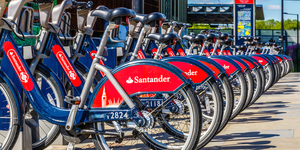 You Can Hire A Santander Bike For Free Today