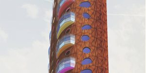 Is It Just Us, Or Does This New Tower Have Something Of The Teletubbies About It?