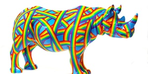 Look Out For London's Herd Of Colourful Rhinos