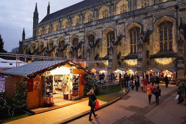 Winchester Cathedral Christmas Market 2018