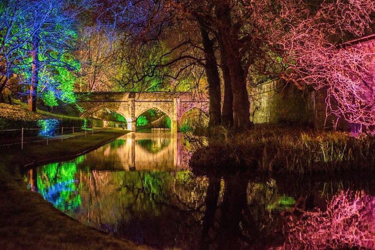 Enchanted Eltham Christmas light festival at Eltham Palace, south London