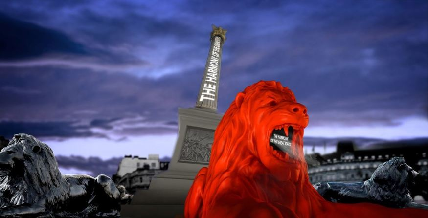 Trafalgar Square Is Getting A Fifth Lion, And It'll Roar Poetry At You