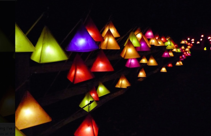 Glow Wild at Wakehurst Place Christmas lights festival