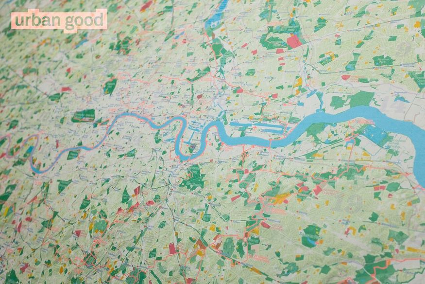 London Free Map.Get Your Free Map Of Green London Londonist