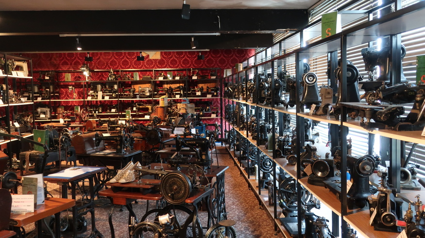 The Best London Museum You've Never Heard Of The Sewing Machine Cool Antique Sewing Machine Museum