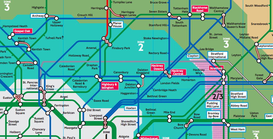The Secret Tube Map That\'s Only Meant For TfL Employees | Londonist