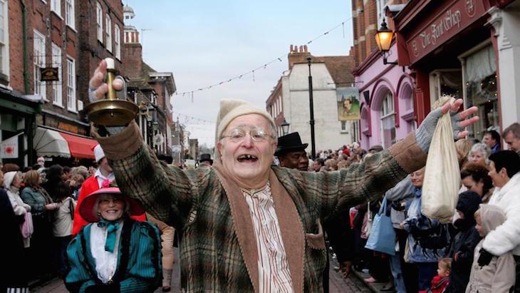 Rochester Dickensian Christmas Festival - Victorian themed Christmas market in Kent