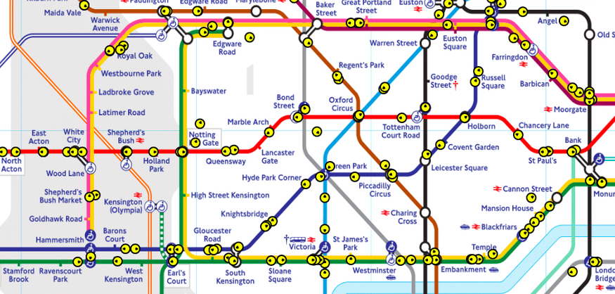 Angel London Map.Watch Where Your Tube Is In Real Time On This Incredible Map Londonist