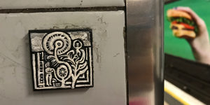 Hundreds Of Tiny Artworks Hidden At Tube Stations