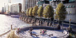 London's Getting 7 New Public Spaces... By Building Onto The Thames