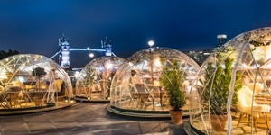 Those Igloos On The Thames Are Back For Winter