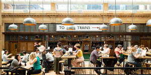 Fulham's Former Underground Station Has Been Transformed Into A Delicious Food Hall