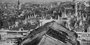 Remarkable Photo Shows A War-Damaged St Paul's Cathedral