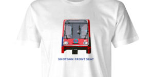 This T Shirt Guarantees You Get The Front Seat On The DLR Every Time